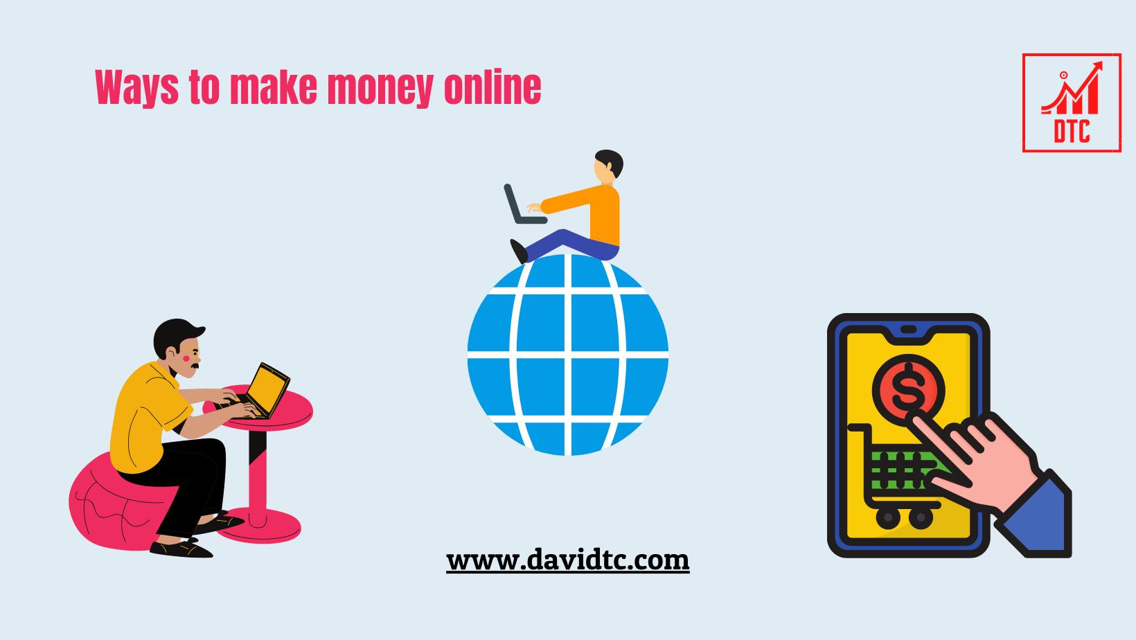 Simple ways to make money online